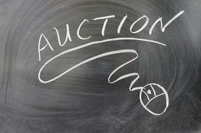 Auction on a Chalkboard